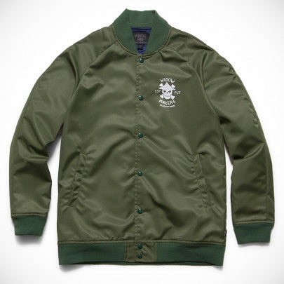 Acapulco Gold - Widow Makers Satin Bomber - Olive