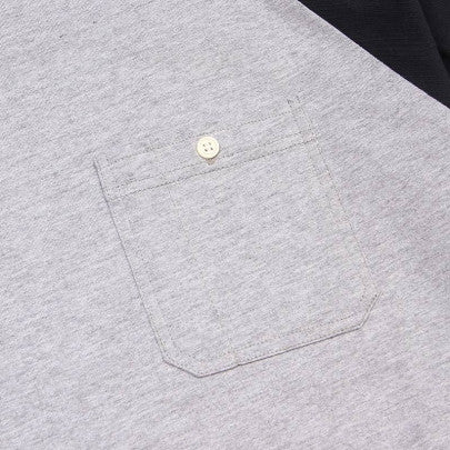 Acapulco Gold - Workwear Raglan - Navy/Heather Grey