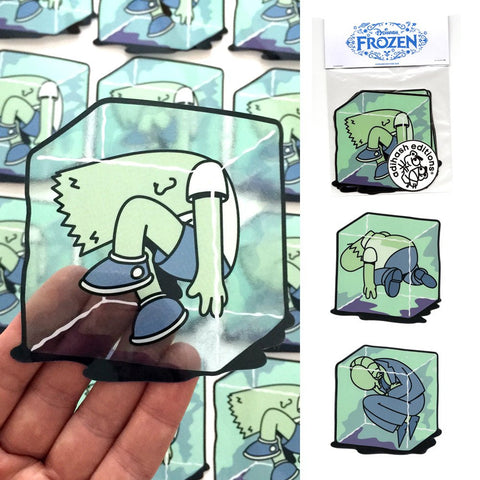 Adihash Editions - Adihash Frozen - Stickers