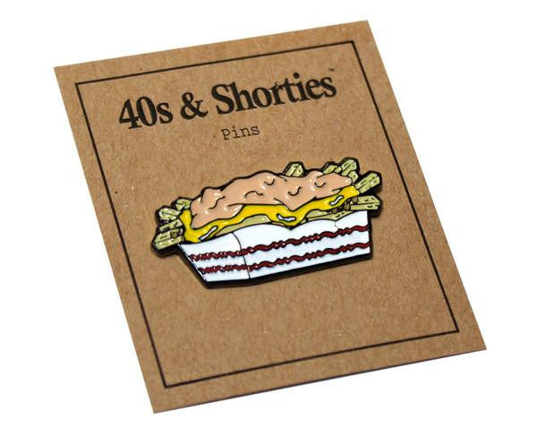 40s & Shorties - Carnivore Fries Pin - Yellow