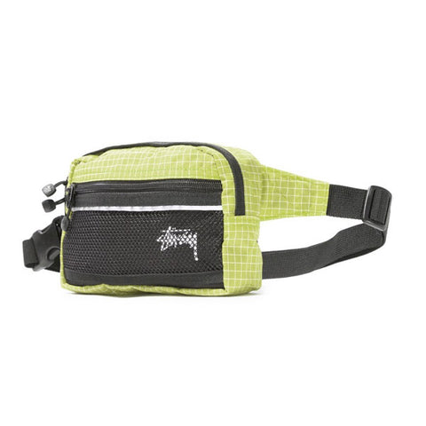 Stussy - Ripstop Nylon Waist Bag - Lime