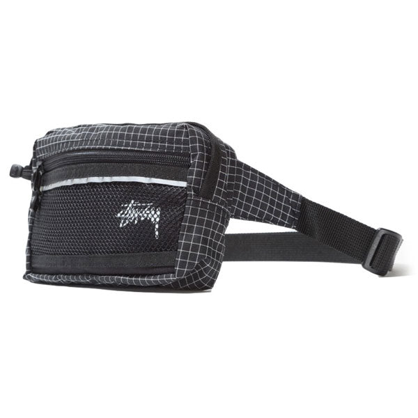 Stussy - Ripstop Nylon Waist Bag - Black