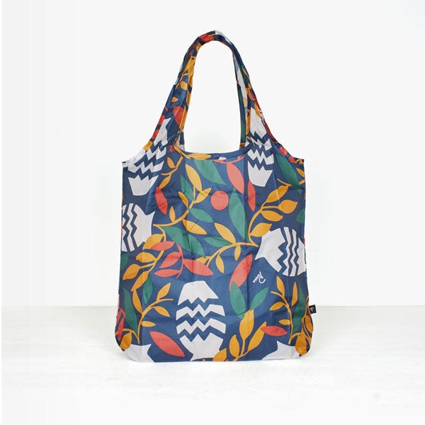 By Parra - Still Life Shopping Bag With Plants - Multi Color