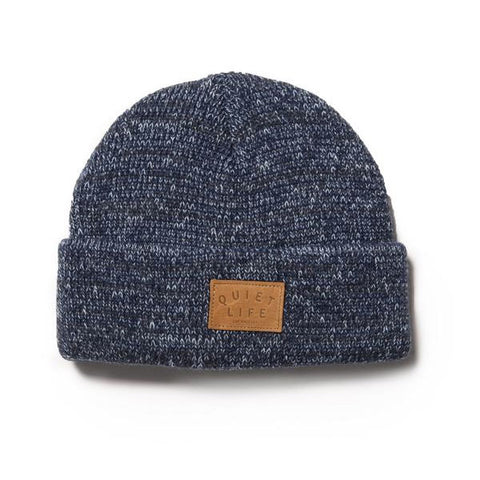 The Quiet Life - Original Marled Beanie - Blue