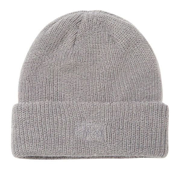 Stussy - Basic Cuff Beanie FA18 - Grey Heather