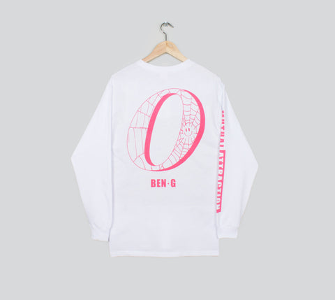 Ben G - Ben G x Order Mutual Attraction L/S Tee - White