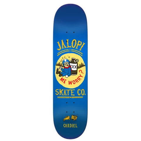 Anti Hero - Cardiel Jalopi Deck - 8.28""