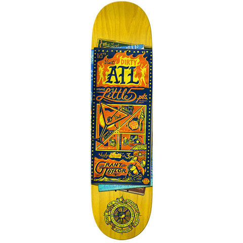 Anti Hero - Taylor Maps to the Skaters Home Deck - 8.25""