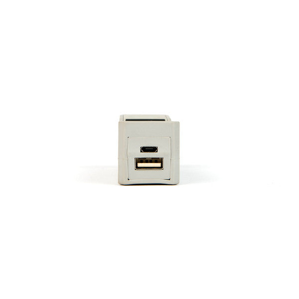 Wattzup - Brick Phone Charger - Grey