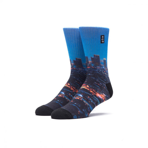 HUF - City Crew Socks - Los Angeles