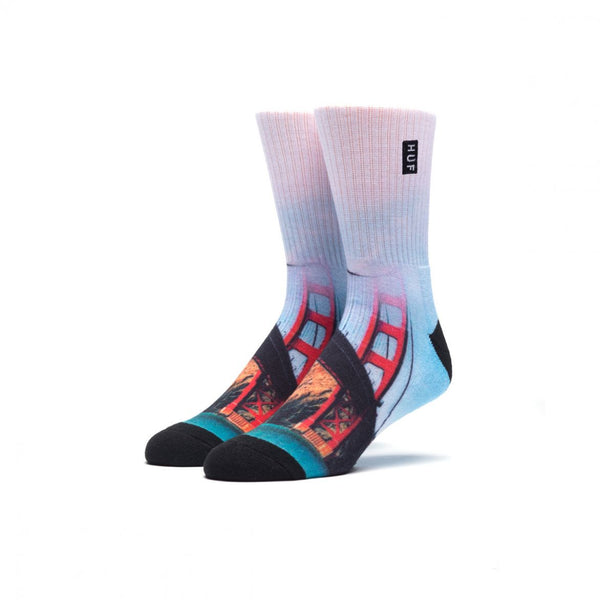 HUF - City Crew Socks - San Francisco