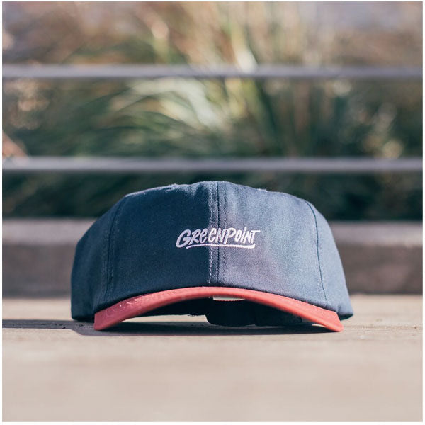 COA Brooklyn - Greenpoint Dad Cap - Navy/Maroon