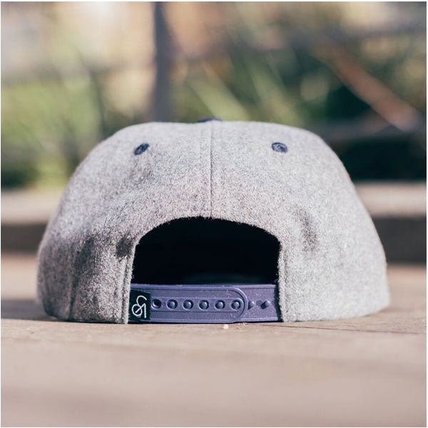 COA Brooklyn - Wool Stadium Cap - Heather/Navy
