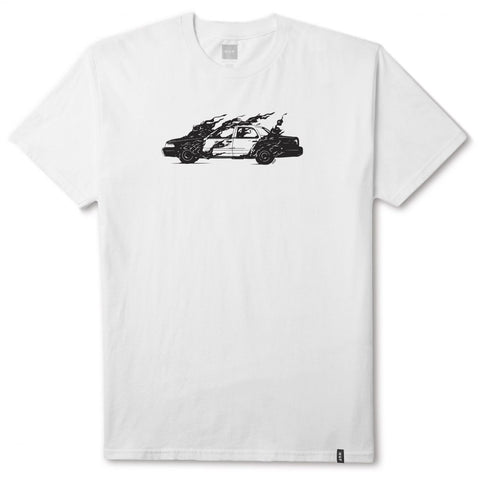 HUF - Cop Car Tee - White