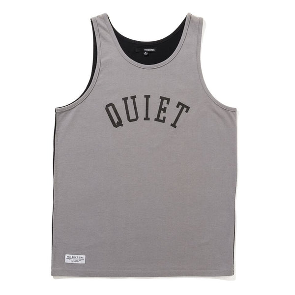 The Quiet Life - Two Faced Tank - Grey/Black