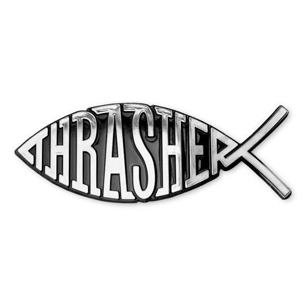 Thrasher - Fish Car Emblem - Black