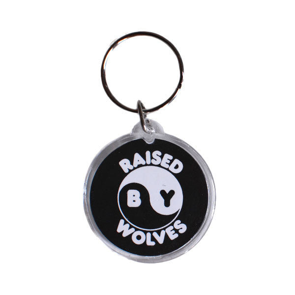 Raised by Wolves - Ferg Young Keychain - Black/White