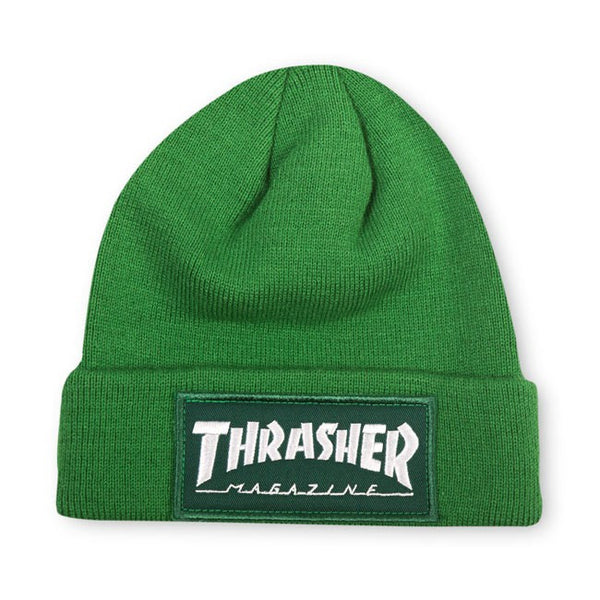 Thrasher - Patch Beanie - Green
