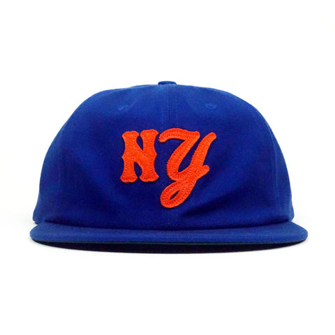 COA/Bongiorno - NY Hat - Blue/Orange