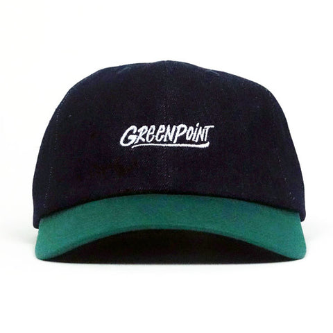 COA Brooklyn - Greenpoint Dad Cap - Navy/Green