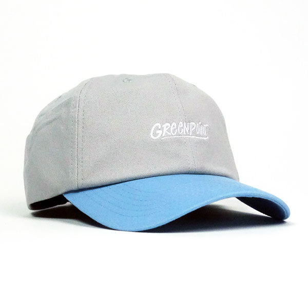 COA Brooklyn - Greenpoint Dad Cap - Grey/Light Blue