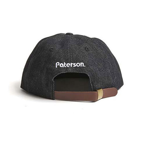 Paterson - Denim Club Hat AW18 - Black