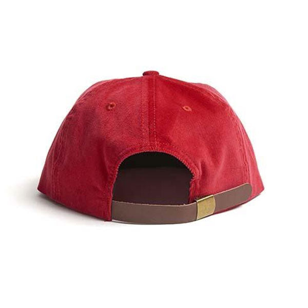 Paterson - Euro Cap Corduroy Hat - Red