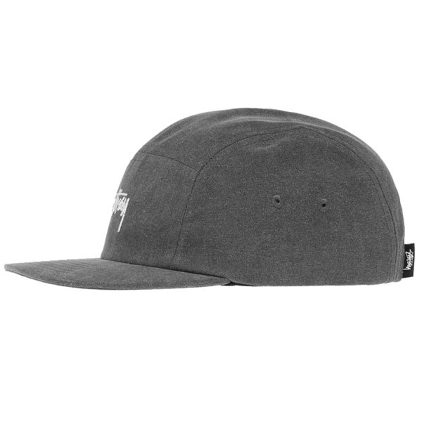 Stussy - Washed Oxford Canvas Camp Cap - Black