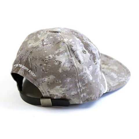 Raised by Wolves - Ghost SQN 6 Panel Cap - Grey Camo