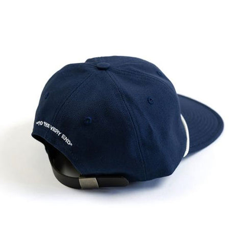 Raised by Wolves - Ghost SQN 6 Panel Cap - Navy