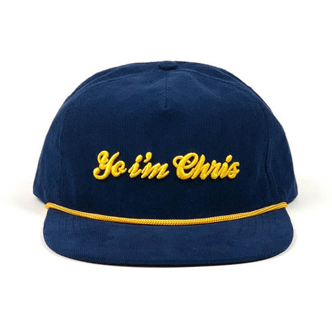 COA Brookyn - Yo I'm Chris Hat - Navy/Gold