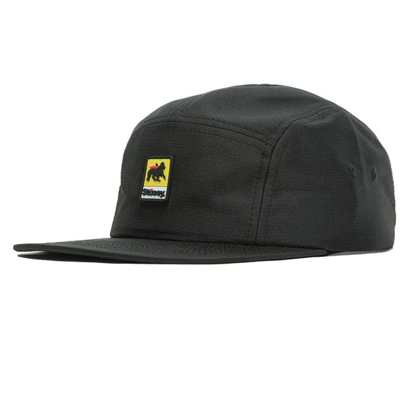 Stussy - Lion Rubber Patch Camp Cap - Black