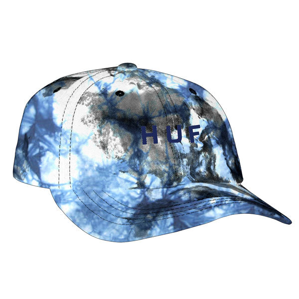 HUF - Spot Dyed 6 Panel Hat - White