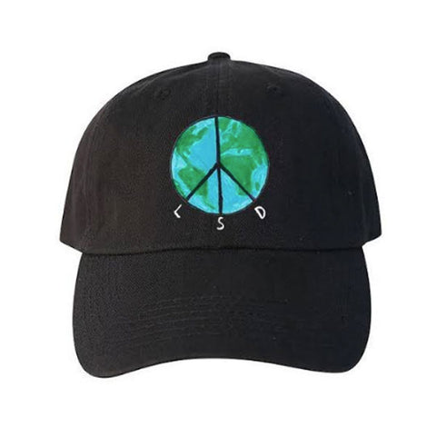 LSD World Peace - The Leary Hat - Black