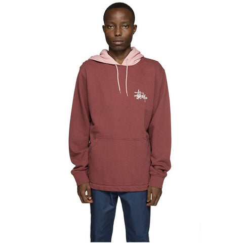 Stussy - Two Tone Hood - Burgundy