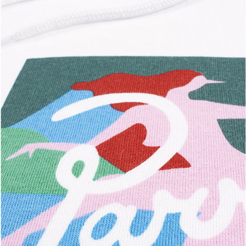 By Parra - Lagoon Hoodie - White