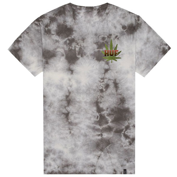 Huf - Backlight Panther Tee - Grey Crystal Wash