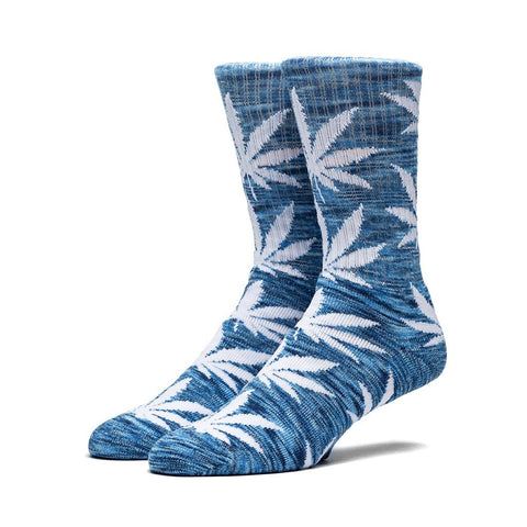 HUF - Streaky Plantlife Crew Socks - Blue/Black