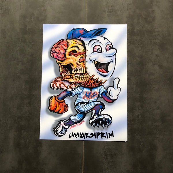 Lamour Supreme - Mr. Met Poster - Multi