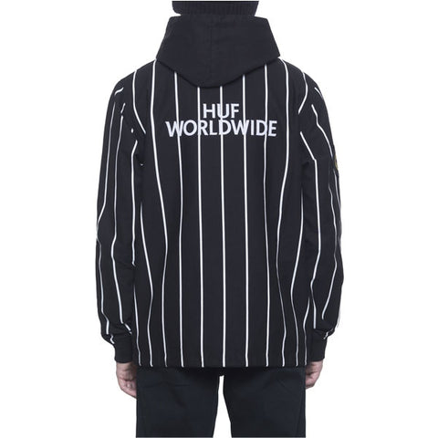 HUF - World Cup Referee Hooded Coaches Jacket - Black