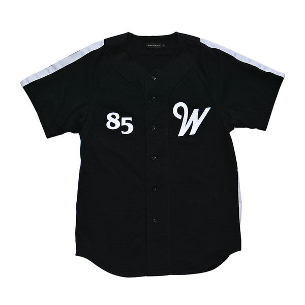 Raised by Wolves - Alternate Baseball Jersey - Black