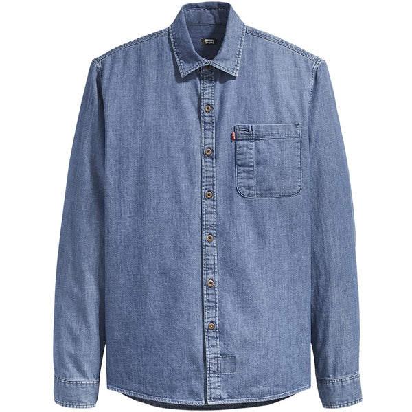 Levi's Skateboarding - Riveter Button Up Shirt - Chambray