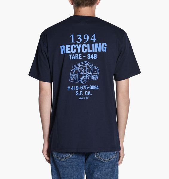Levi's Skateboarding - Graphic S/S Tee - Recycling Marina Blue