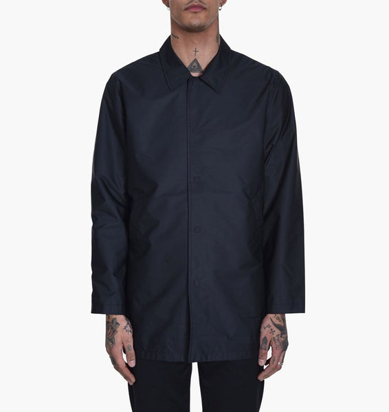 Levi's Skateboarding - Long Coaches Jacket - Jet Black