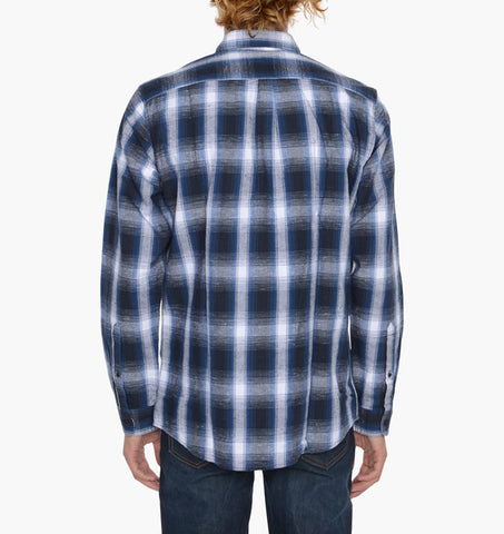 Levi's Skateboarding - Reform Button Up Shirt - Calamint/True Blue