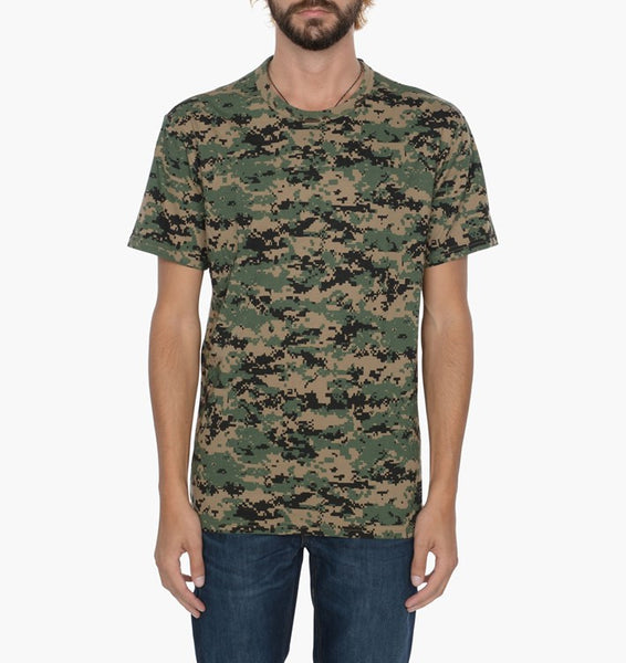 Levi's Skateboarding - Skate 2 Pack T-shirts - Ivy Green & Camo