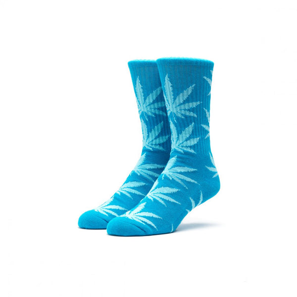 HUF - Melange Plantlife Crew Sock - Blue/Heather Blue