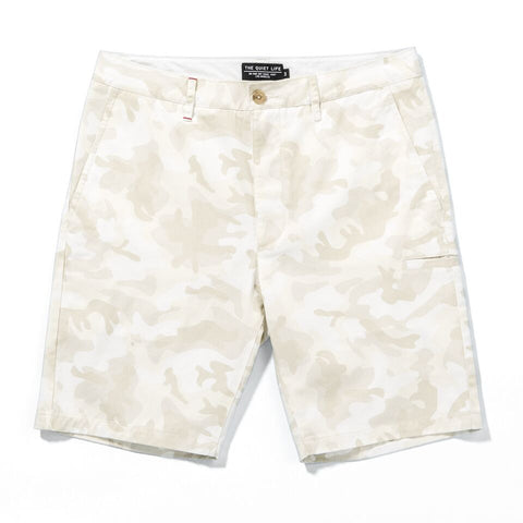 The Quiet Life - Chino Shorts - White/Camo