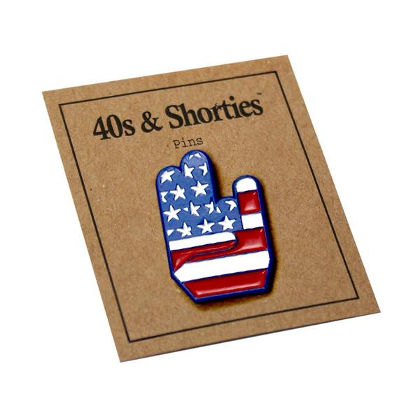 40s & Shorties - Patriot Shocker Pin - Multi
