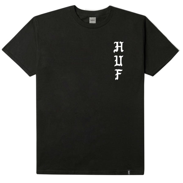 HUF - Peeppers Tee - Black